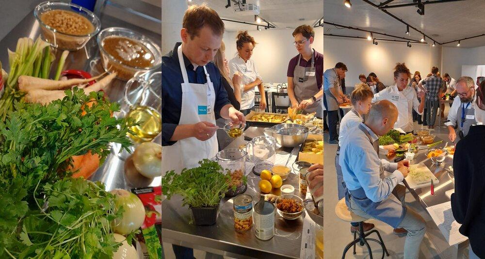 Warsztaty kulinarne w Centrum Konferencyjnym  POLIN w Warszawie