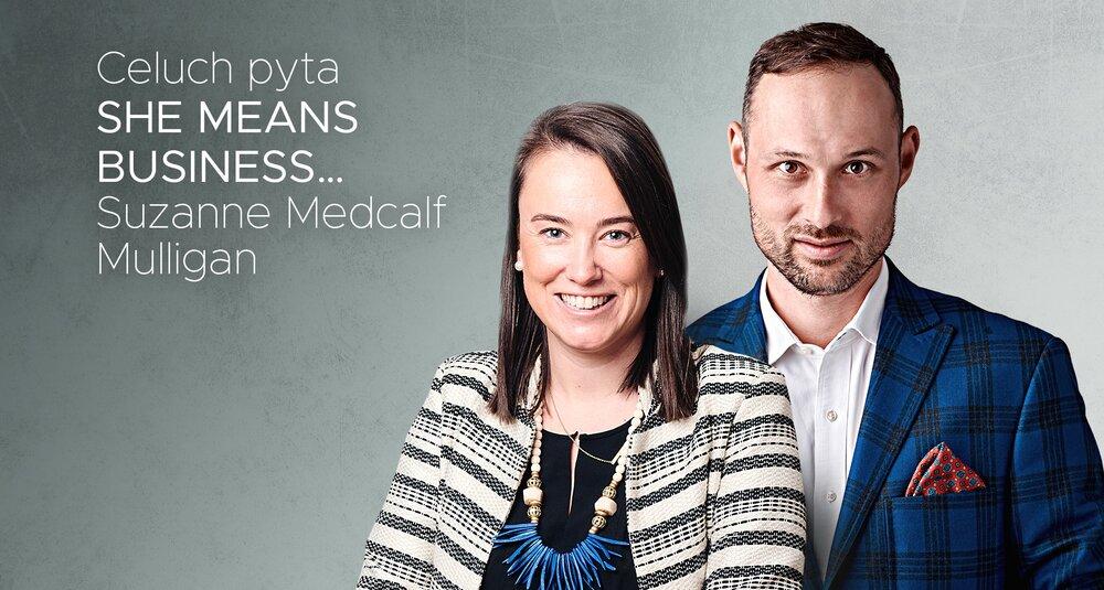 Suzanne Medcalf Mulligan i Krzysztof Celuch