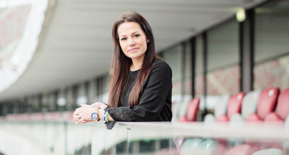 Monika Borzdyńska, członek zarządu  spółki PL.2012+, operatora PGE Narodowego