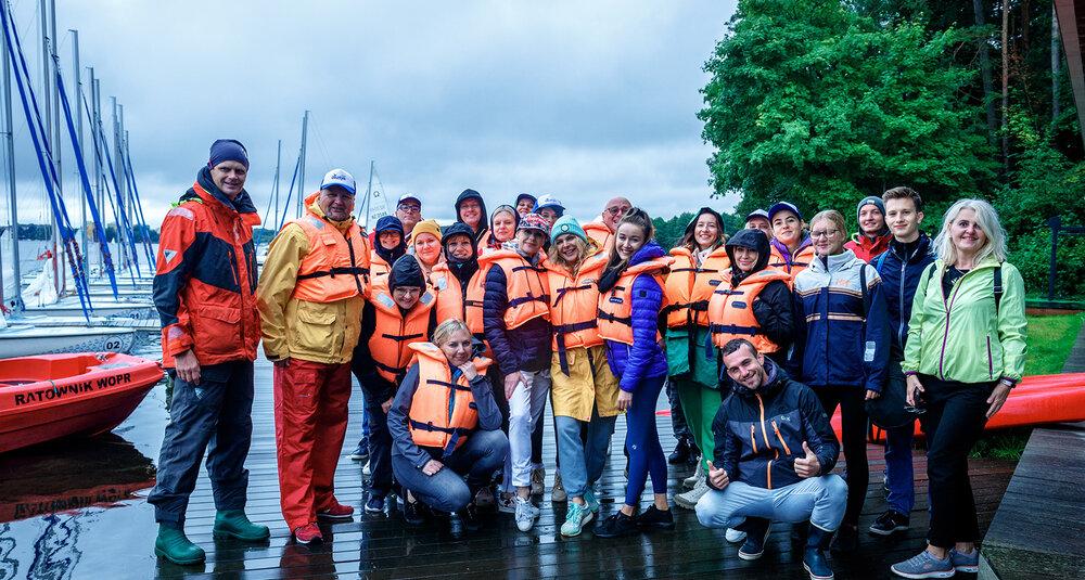 Meeting plannerzy w Olsztynie - regaty na jeziorze Ukiel. fot. Aleksandra Kossowska, Fotystory.pl