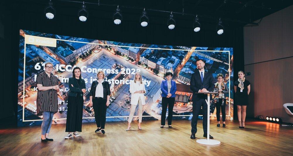 61. Kongres ICCA – host comitee w ICE Kraków