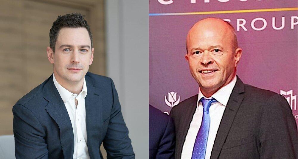 François Delattre i Grzegorz Uszycki