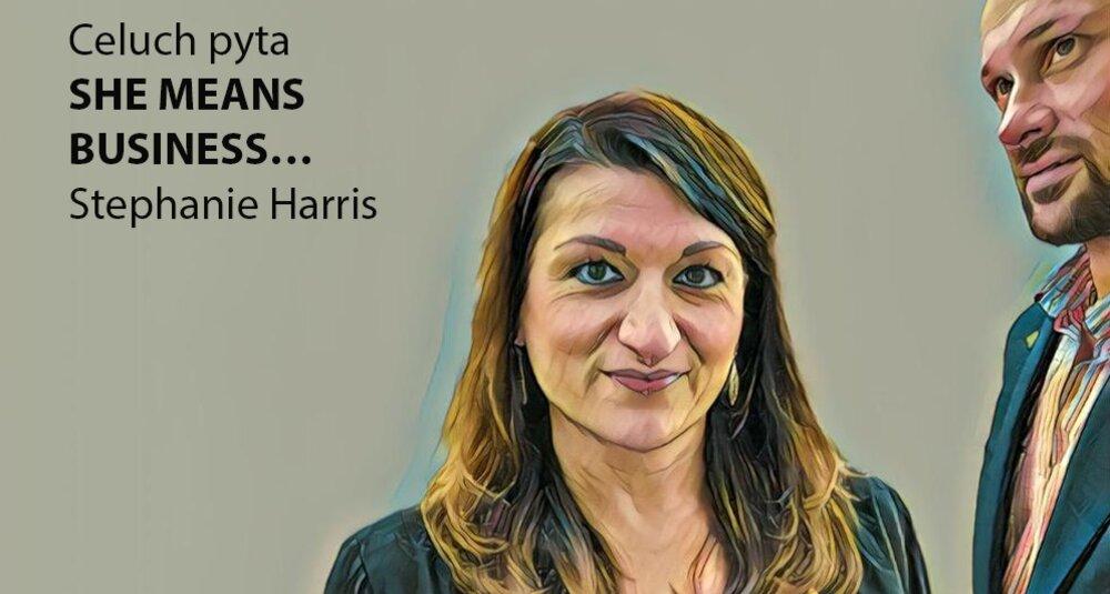 Stephanie Harris gościem cyklu Celuch pyta… She means business…