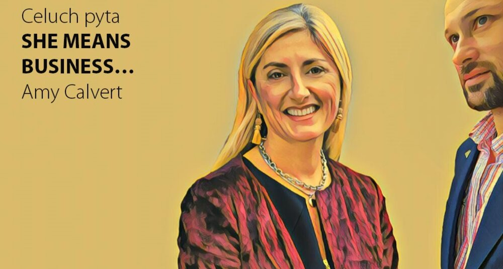 Amy Calvert gościem cyklu Celuch pyta… She means business…
