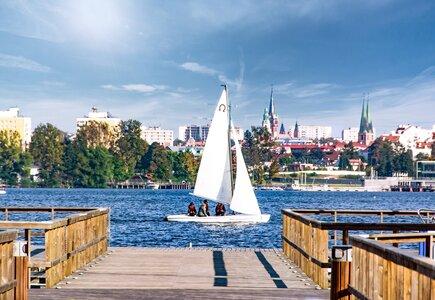 Olsztyn - Jezioro Ukiel. fot.  Marcin Kierul