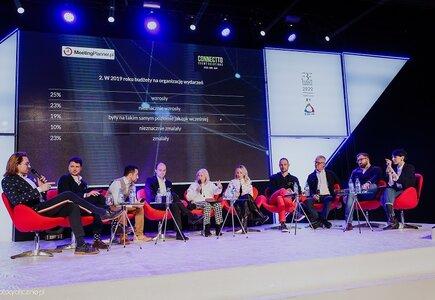 MeetingPlanner.pl był organizatorem dyskusji poświęconej najważniejszym zjawiskom kształtującym branżę eventowa, które w dużej mierze odnosiły się także do trendów przedstawionych w raporcie.