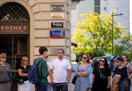 Spacer z Warsaw Coffee Tour. fot. Marcin Faliński