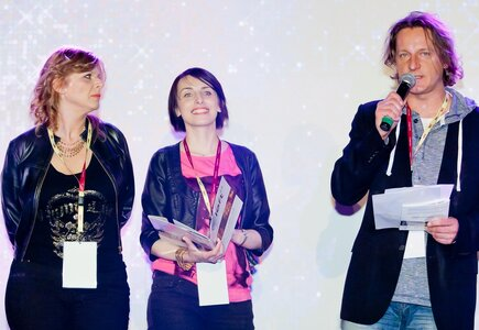 Sylwia Banaszewska i Magdalena Kondas (MeetingPlanner.pl), Maciej Gowin (Art Events, Loft 44)