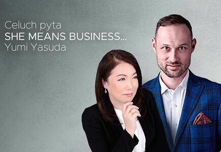 Yumi Yasuda i Krzysztof Celuch