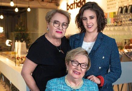 Jadwiga, Jolanta i Caroline Radziszewskie czyli trzy pokolenia Batidy
