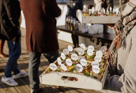 Sheraton Sopot Hotel przygotował powitalną gorącą herbatę i przekąski na...