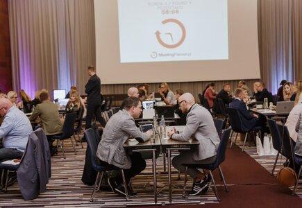 Biznesowe, 15-minutowe spotkania event managerów z oferentami