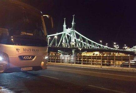 Mazurkas Transport w Budapeszcie