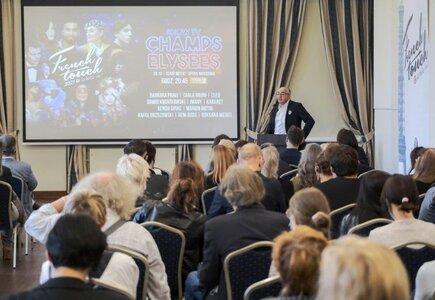 Konferencja prasowa inaugurująca French Touch 2021: Daniel Teboul, prezes French Touch