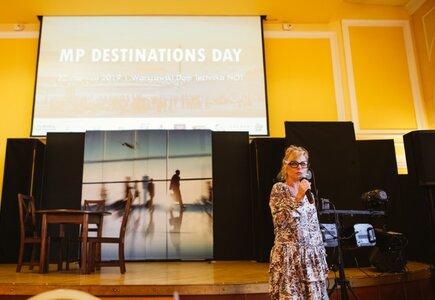 Rozpoczęcie MP Destinations Day specjalnej edycji MP Fast Date® - Sylwia Banaszewska, prezes zarządu MeetingPlanner.pl