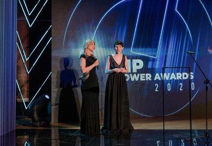 Sylwia Banaszewska i Magdalena Kondas (MeetingPlanner.pl) zakończenie dziewiątej MP Power Night i zaproszenie do udziału w dziesiątej jubileuszowej edycji MP Power Awards