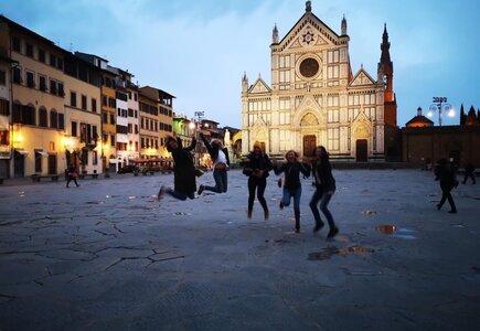 Pustki na ulicach Florencji fot. Anna Maciaszek