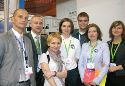 od lewej: Piotr Lenczewski (Radisson BLU), Anna Witkowska (Stołeczne Biuro Turystyki), Magdalena Hołowińska (WCB), Iwona Kubisz (WCB), Paul Majewski (SCB), Iwona Liwska (Lufthansa City Center)
