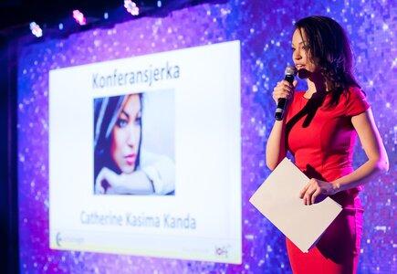 Catherine Kasima Kanda, konferansjerka, prezenterka