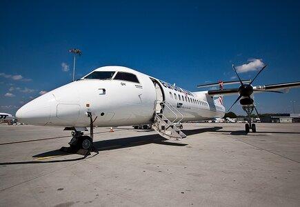 LOT Bombardier Q400 fot. Krzysztof Moczulski