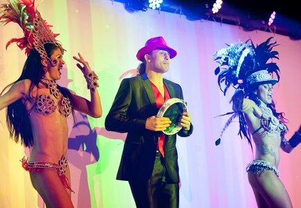 Afro Carnaval, samba, tancerki
