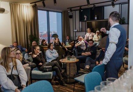 Wizyta studyjna w Holiday Inn Gdańsk - City Centre - degustacja rumu
