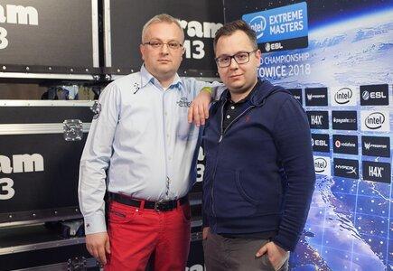 Rafał Mrzygłocki CEO i Michał Mrzygłocki set designer i COO, Aram