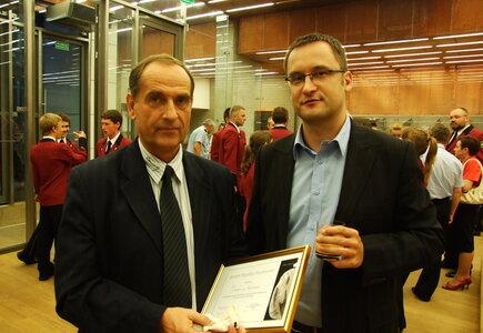 od lewej: Zbigniew Sielecki (Hotel OSSA Congress & SPA), Piotr Cieślak (Meeting Planner)