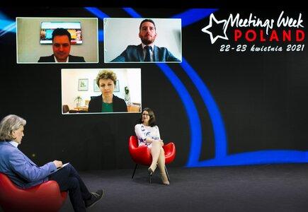 Sesja: Poland Meetings Destination - Przemysł spotkań w Polsce w epoce pandemii i po. Wyzwania, perspektywy, trendy.