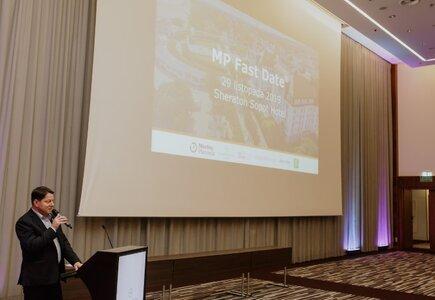 Wydarzenie otworzył Artur Zawadzki, dyrektor generalny Sheraton Sopot Hotel, partnera 35. edycji MP Fast Date®