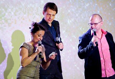 Ewa Dobrowolska, Krzysztof Łobodziński i Jarosław Gmitrzuk