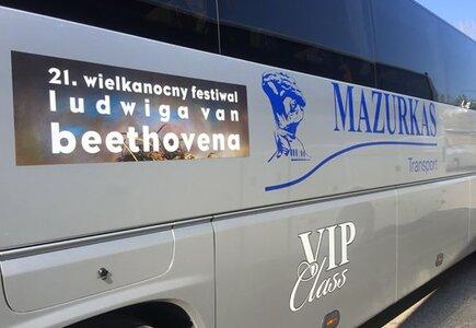 Transport podczas XXI Wielkanocnego Festivalu Ludviga van Beethovena