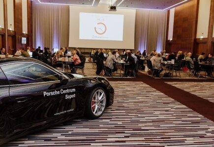 Do sali konferencyjnej w sopockim Sheratonie, w której odbywał się MP Fast Date®, można wprowadzić samochód