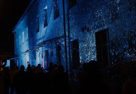 Łódź by night