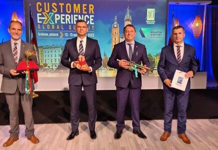 Przedstawiciele Kraków Airport ACI Customer Experience Global Summit