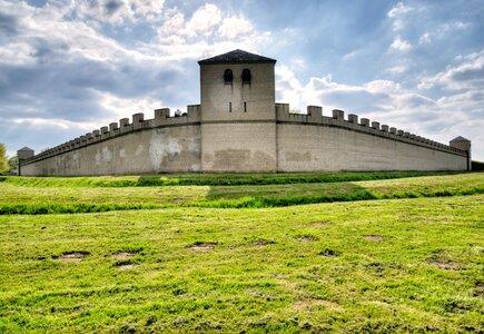 Xanten. Mur rzymski w Parku Archeologicznym, fot. Ventura Carmona