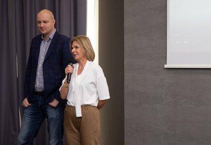 Maciej Trybus, prezes Aparthotel Termy Uniejów i Sylwia Banaszewska, prezes zarządu MeetingPlanner.pl