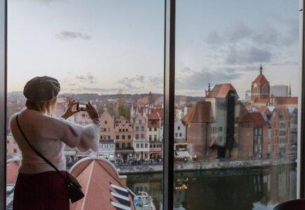 Widok z okien Holiday Inn Gdańsk - City Centre