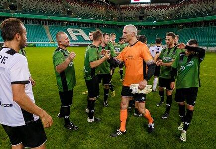 Maciej Szczęsny podczas MP Legia Cup 2016